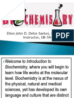 Biochem Introduction