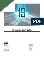 FE Modeler Users Guide