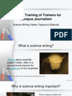 340166347 Science Journalism Workshop 1