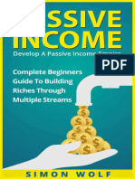 Wolf, Simon - Passive income _ develop a passive income empire _ complete beginner's guide to building riches through multiple streams (2016).epub