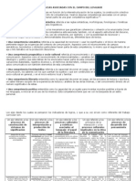 COMPETENCIAS DESEMPEÑOS INDICADPRES DE DESEMPEÑOS