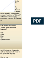 Coding Decoding Part One