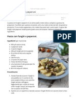 Blog.giallozafferano.it-pasta Con Funghi e Peperoni
