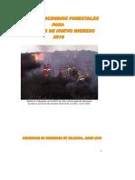 9.1 Incendio Forestales y Rurales