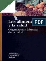 Organizacion Mundial de La Salud Los Alimentos Y La Salud