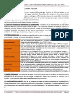 Tema 8. Identificación de Voces Patrimoniales, Cultismos, Semicultismos y Préstamos
