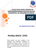 INGENIERÍA EOLICA - Perfiles Naca 24xx y 44xx