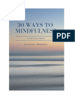 30 Ways to Mindfulness