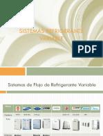 SISTEMAS DE REFRIGERANTE VARIABLE