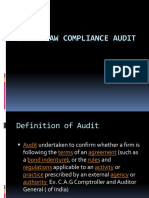 Cyber Law Compliance Audit