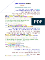 06 The Scriptures. Old Testament. Hebrew-Greek-English Color Coded Interlinear
