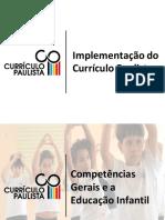 Pauta Currículo Paulista - Competencias Gerais e a Educação Infantil-02