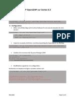 TP OpenLDAP Sur Centos 6.5