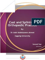 cast and splints