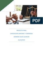 Proyecto Final Legislacion Laboral y Comercial