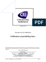 Unigen Plus Parallel Lines Calibration