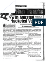 Heat Transfer in Agitated Jacketed Vessels