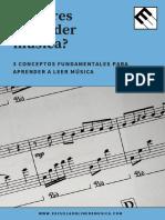 EOM - 3 Conceptos Fundamentales Para Aprender a Leer Musica