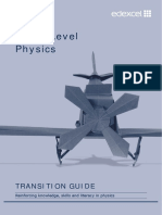 Physics Transition Guide