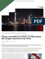 ¡Obtén Resultados Sin Dolor! La Clave Detrás Del Milagro Económico de China - Sputnik Mundo