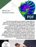 Slide 1 - Aula de Elementos Finitos