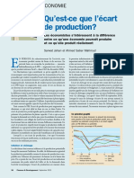 ecart de production