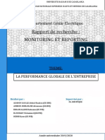 Rapport Performance Globale