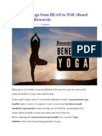 Benefits of Yoga from HEAD to TOE (Based on Scientific Research).docx