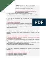 CCNA 1 Cisco v5.0 Capitulo 5 - Respuestas Del Exámen