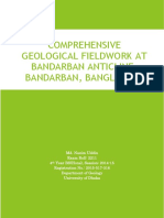 Comprehensive Geological Fieldwork at Bandarban Anticline, Bandarban, Chittagong, Banladesh