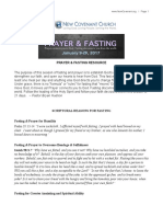 Prayer and Fasting resource