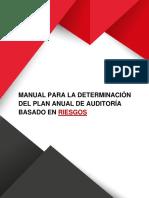 Manual Para La Determinacion Del Plan Anual de Auditoria Basado en Riesgos