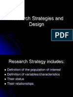 2. Research Strategies and Design