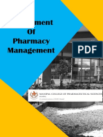 Department of Pharmacy Management