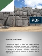 Capitulo 1 Procesos Industriales