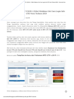 Akhirnya INFO GTK v.2019.1.1 Rilis! Silahkan Cek Cara Login Info GTK Versi Terbaru 2019 _ Secercah Ilmu