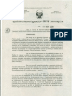 APRUEBAN DIRECTIVA QUE NORMA LOS III JUEGOS DEPORTIVOS DE EDUCACIÓN BÁSICA ALTERNATIVA DE LIMA METROPOLITANA 2010