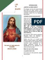 Hora Santa de Reparacion Al Sagrado Corazon de Jesus