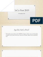GeCo Fest 2019