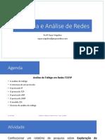 Gerência e Análise de Redes - Aula de Análise e Tráfego de Redes 28_10
