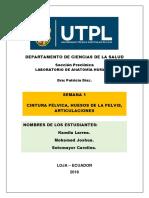 APLICACIÓN CLÍNICA DE LOS DIÁMETROS DE LA PELVIS