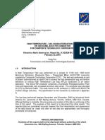k 422024 3 Ctc_ref. High Temperature Test_ Final Report