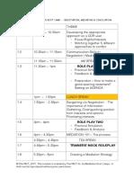 A2 - Schedule