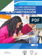 guia para la implementacion de curriculo integrado de alfabetizacion