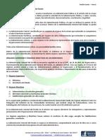 Temario Administrativo Administración General del Estado