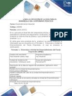 Formato Para La Ejecución de La Guía Para El Desarrollo Del Componente Práctico (2)
