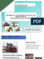 Informe de Los Montacarga Taylor 2019
