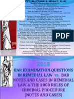 Remedial Law Bar 2018 With Suggested Answers
