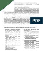 Examen Cnaturales Docente Sexto 2019