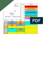 horario-6to ciclo